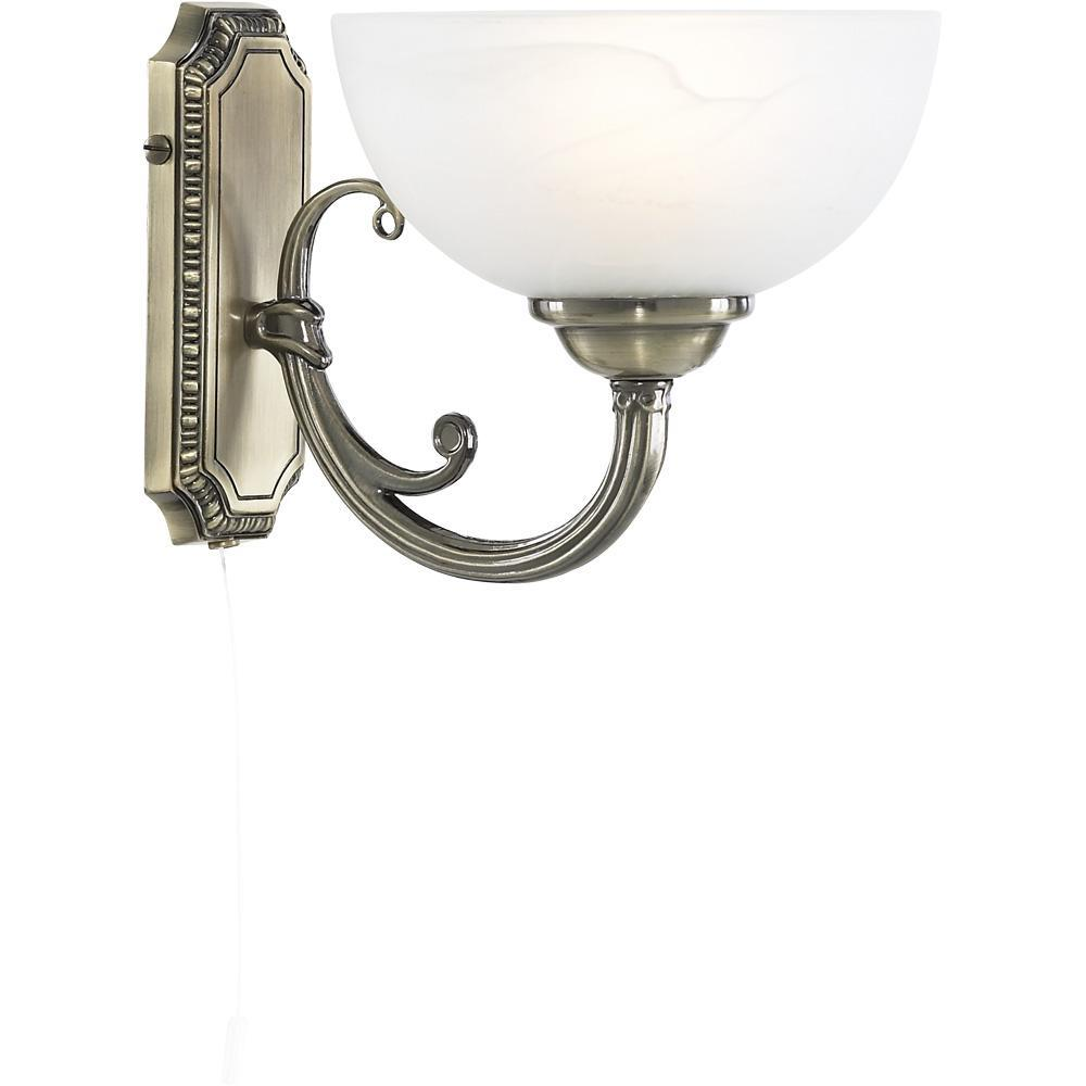 Бра Arte Lamp Windsor White A3777AP-1AB