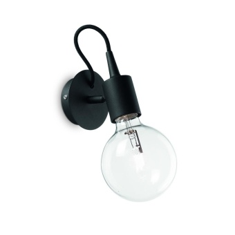 Бра Ideal Lux Edison AP1 Nero