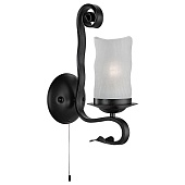 Бра Arte Lamp Scroll A7915AP-1BK